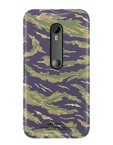 CAMOUFLAGE PATTERN - Moto G3 Phone Cover View
