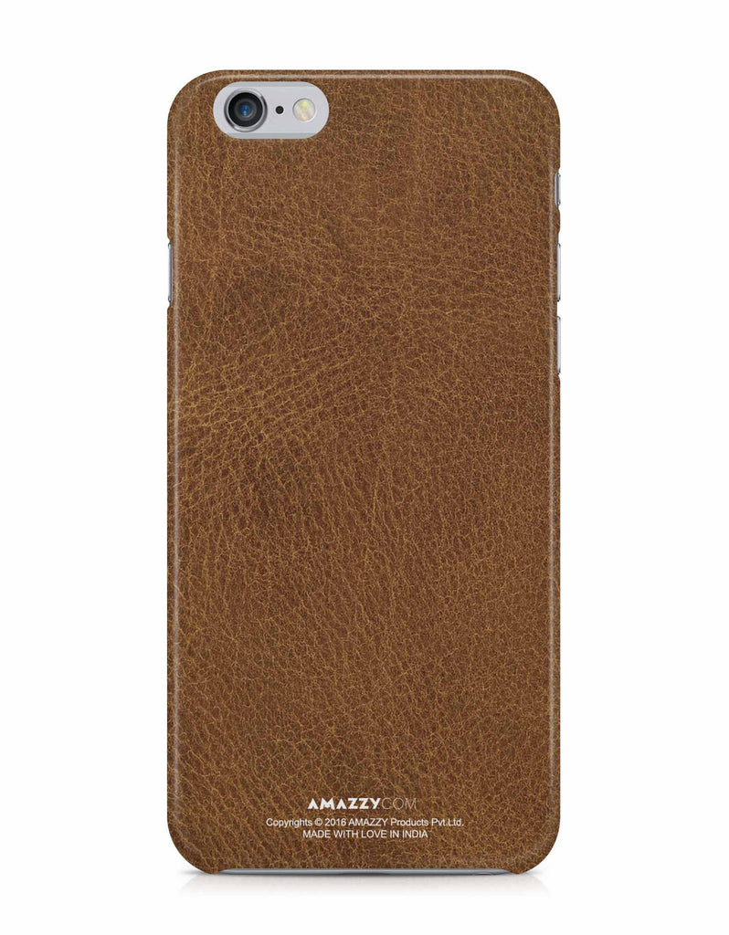 Brown Leather Texture - iPhone 6/6s Phone Cover