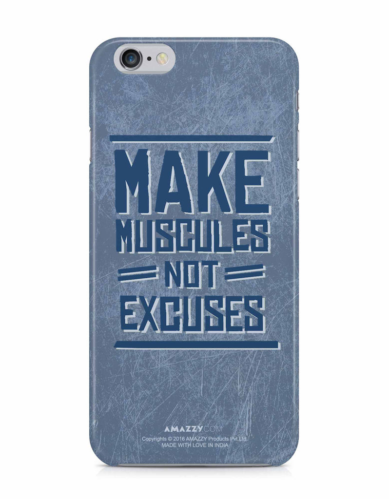 MAKE MUSCLES - iPhone 6/6s Phone Cover