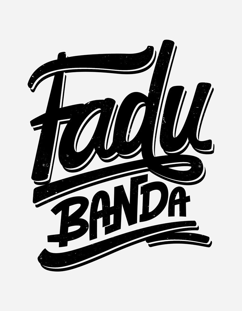 Fadu Banda - White Men's Half Sleeve Cool T Shirt Design View