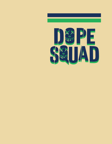 Dope Squad - Men's Pocket Print T shirt Design View