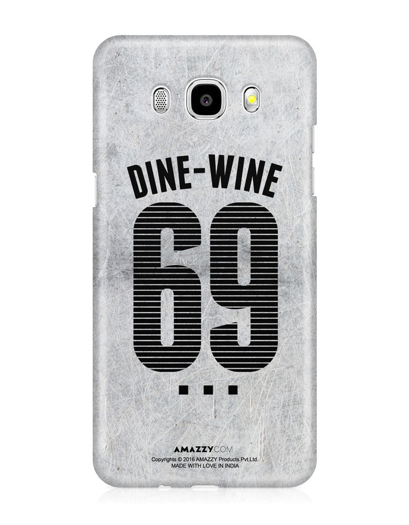 DINE-WINE-69 - Samsung J5 (2016) Phone Covers