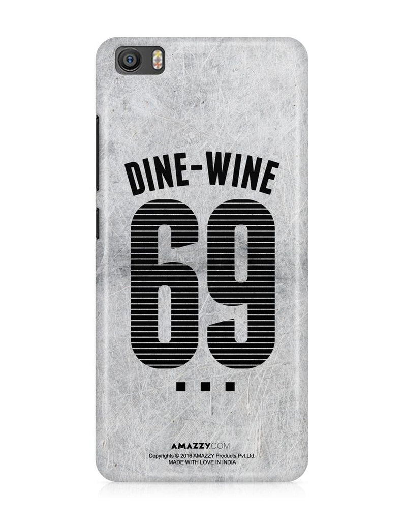 DINE-WINE-69 - Xiaomi Mi5 Phone Cover View