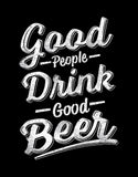 Good Beer - Black Men's Beer Half Sleeve Graphic T Shirt Design View