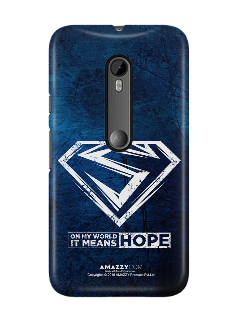 HOPE - Moto G3 Phone Cover View