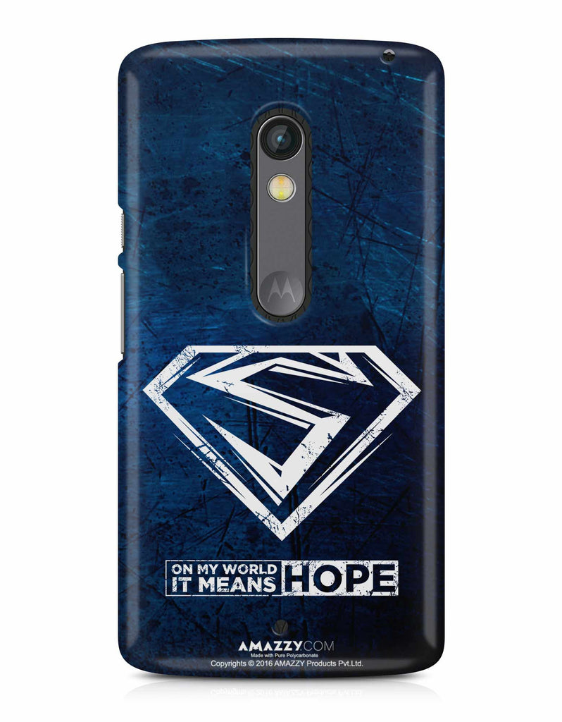 HOPE - Moto X Play Phone Cover View