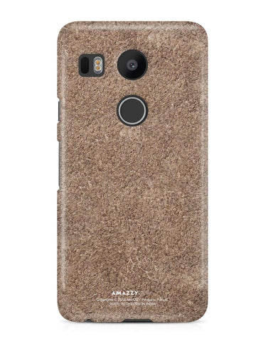 Bronze Leather Texture - Nexus 5x Phone Cover