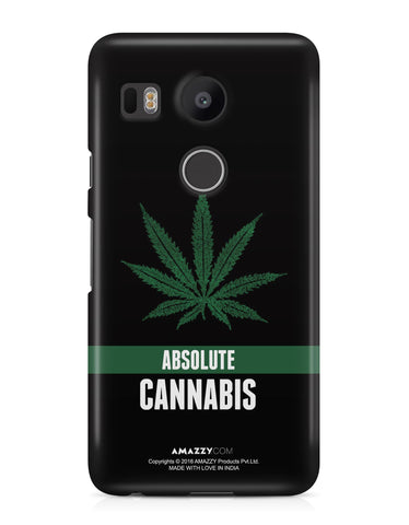 ABSOLUTE CANNABIS - Nexus 5x Phone Cover
