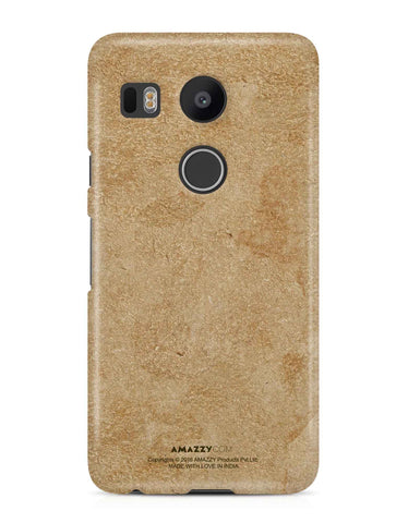 Gold Leather Texture - Nexus 5x Phone Cover
