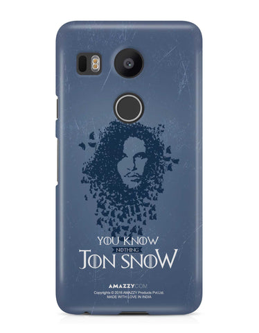 JON SNOW - Nexus 5x Phone Cover