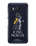 KING IN THE NORTH - Nexus 5x Phone Cover