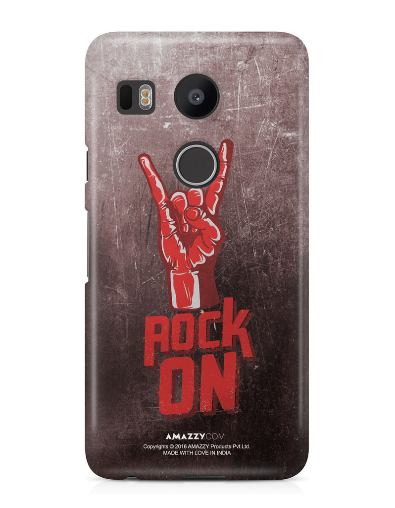 ROCK ON - Nexus 5x Phone Cover