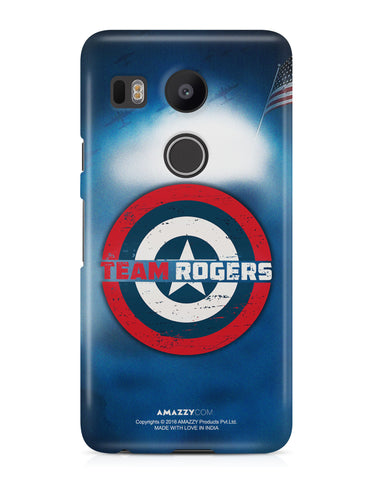 TEAM ROGERS - Nexus 5x Phone Cover