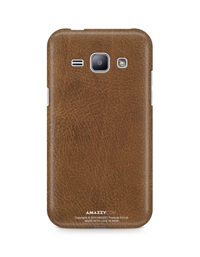 Brown Leather Texture - Samsung J1 Phone Cover