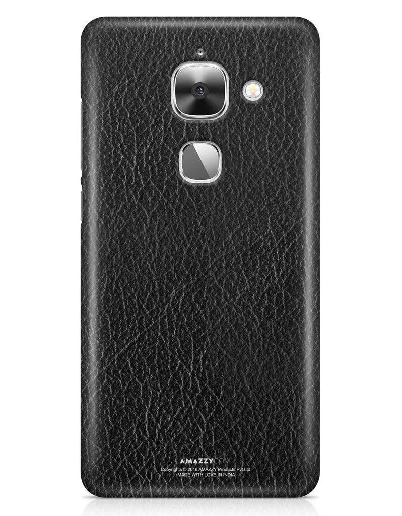 Black Leather Texture - LeEco Le 2S Phone Cover