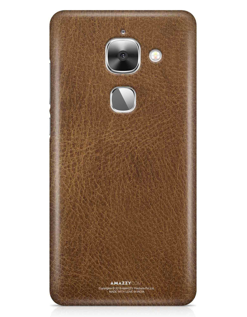 Brown Leather Texture - LeEco Le 2S Phone Cover