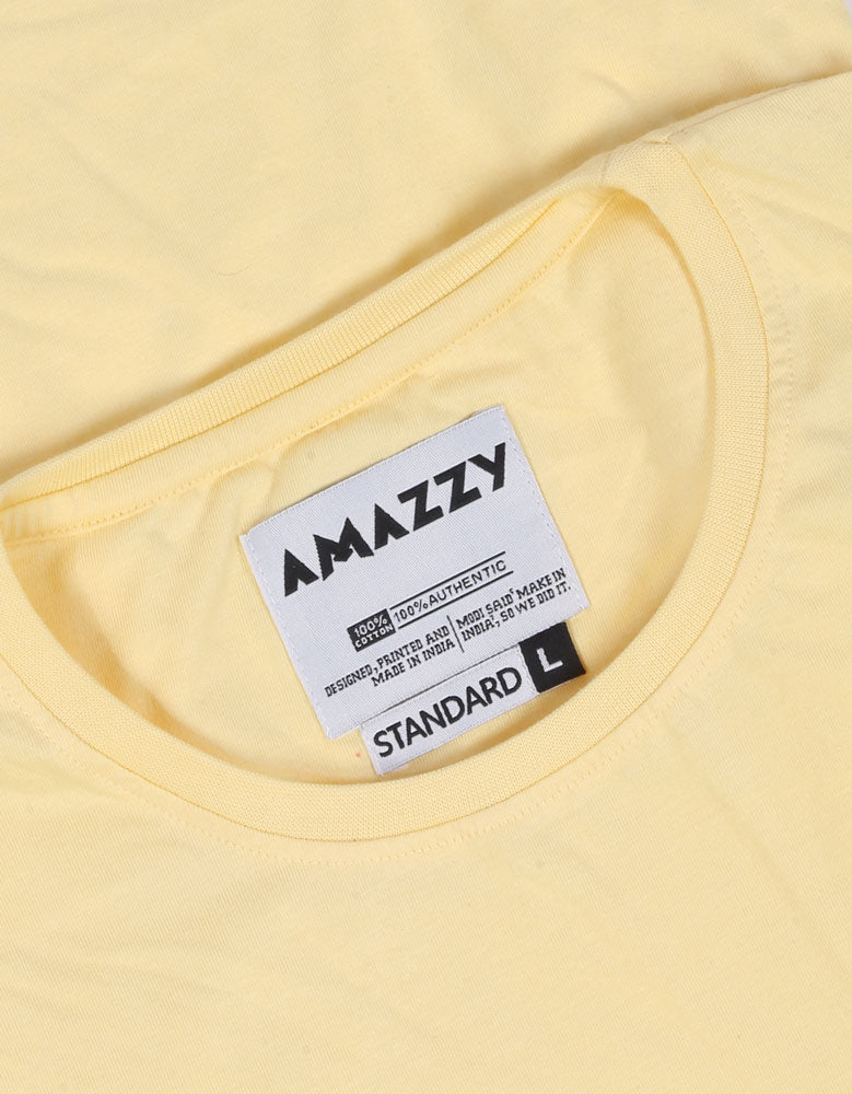 Lemon Yellow T Shirt