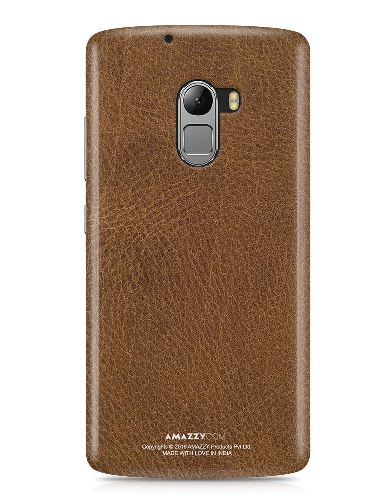 Brown Leather Texture - Lenovo K4 Note Phone Cover