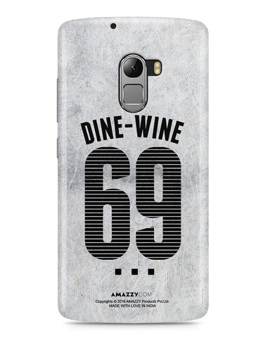 DINE-WINE 69 - Lenovo K4 Note Phone Cover