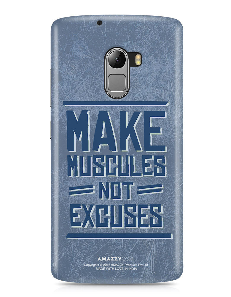 MAKE MUSCLES - Lenovo K4 Note Phone Cover