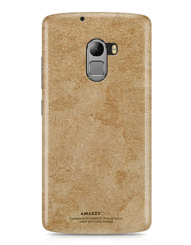Gold Leather Texture - Lenovo K4 Note Phone Cover