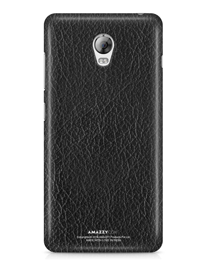 Black Leather Texture - Lenovo Vibe P1 Phone Cover