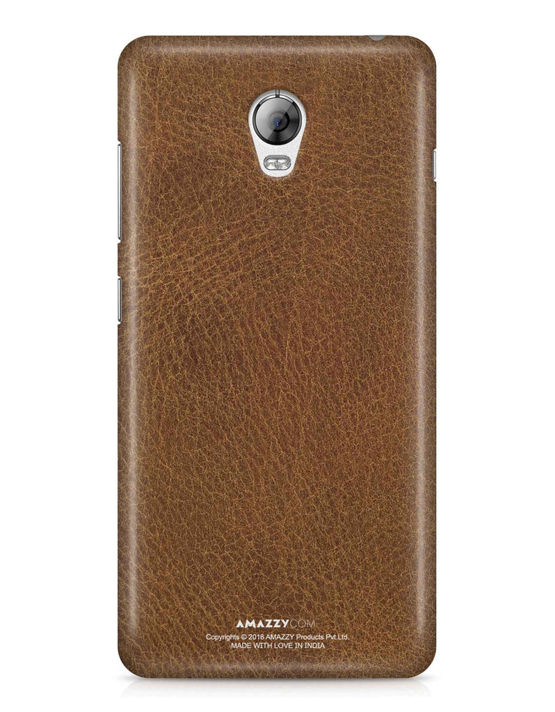 Brown Leather Texture - Lenovo Vibe P1 Phone Cover