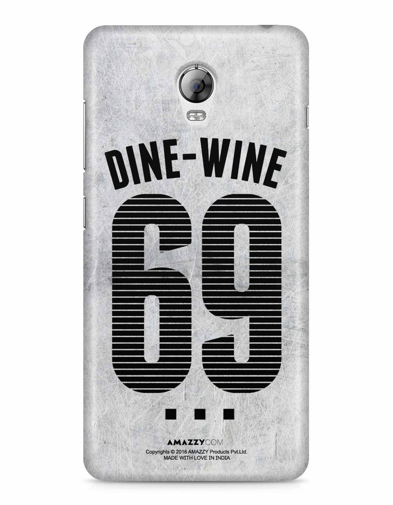DINE-WINE-69 - Lenovo Vibe P1 Phone Cover