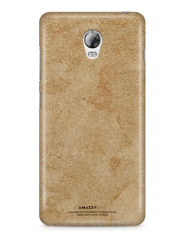 Gold Leather Texture - Lenovo Vibe P1 Phone Cover