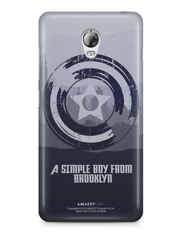 CAPTAIN AMERICA SHIELD - Lenovo Vibe P1 Phone Cover
