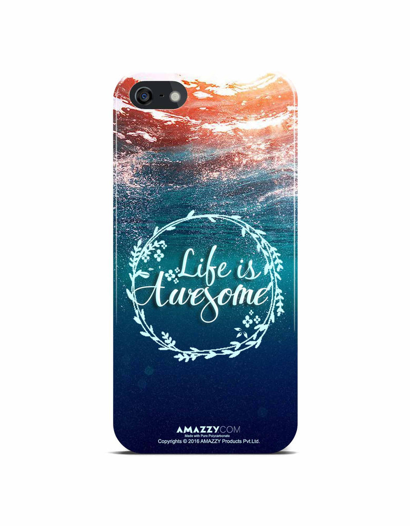 LIFE IS AWESOME - iPhone 5/5s Phone Cover View