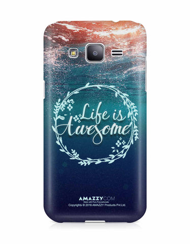 LIFE IS AWESOME - Samsung J3 Phone Cover