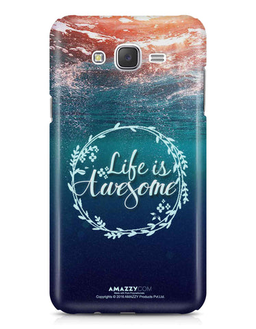LIFE IS AWESOME - Samsung J7 Phone Cover