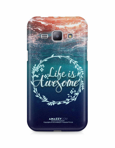 LIFE IS AWESOME - Samsung J1 Phone Cover