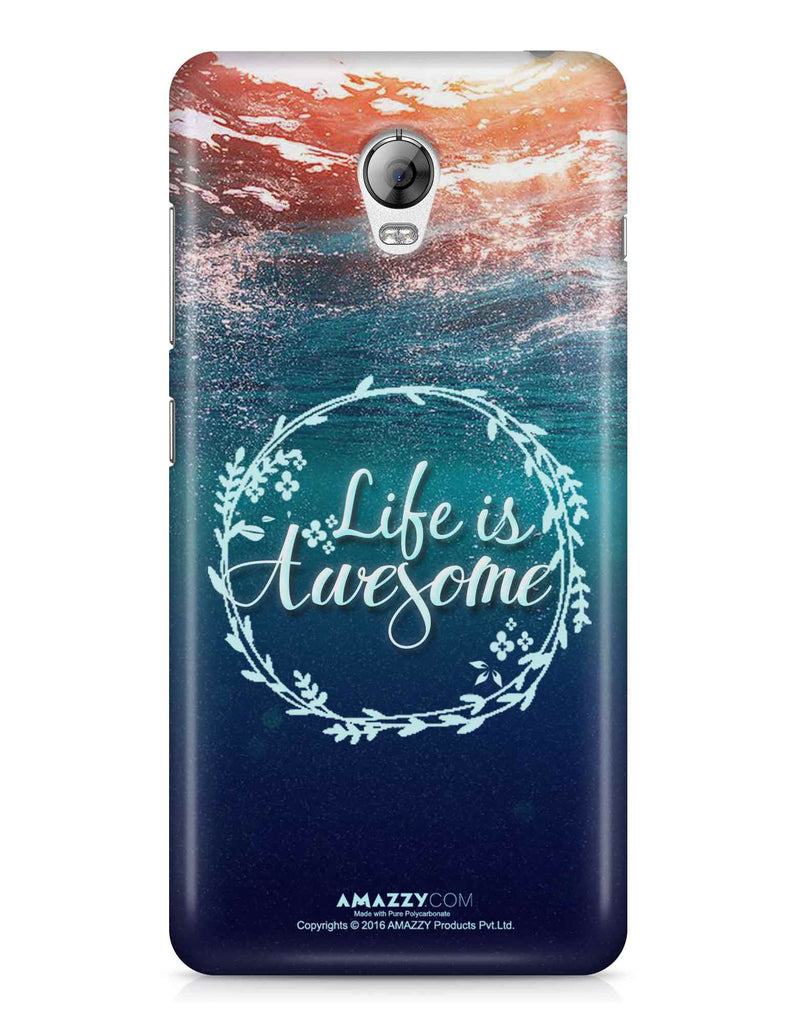 LIFE IS AWESOME - Lenovo Vibe P1 Phone Cover