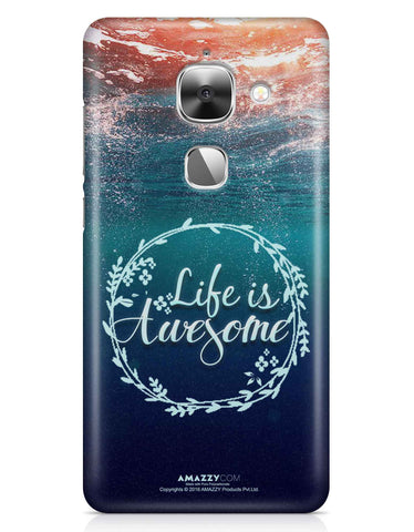 LIFE IS AWESOME - LeEco Le 2S Phone Cover