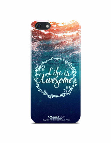 LIFE IS AWESOME - iPhone 5/5s Phone Cover