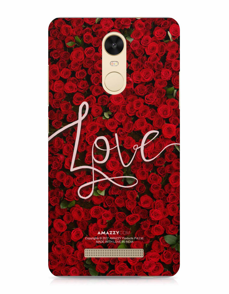 LOVE - Xiaomi Redmi Note3 Phone Cover View
