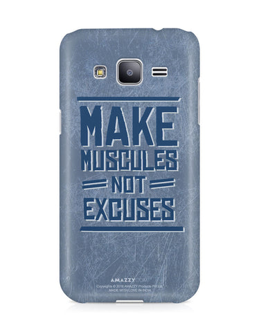 MAKE MUSCLES - Samsung J3 Phone Cover