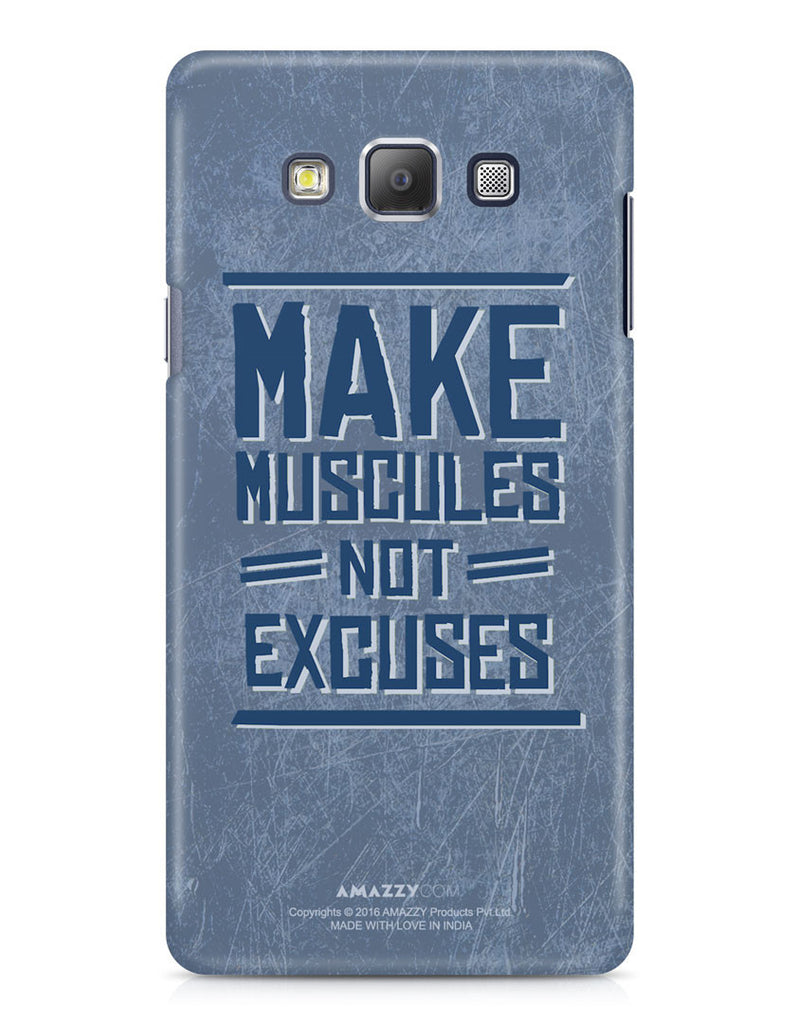 MAKE MUSCLES - Samsung A7 Phone Cover