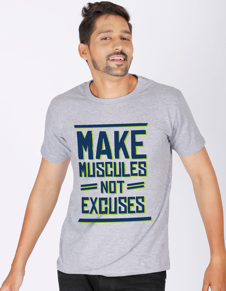 Make Muscles - Men's Gym T-shirt