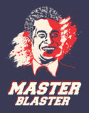 Master Blaster - Navy Blue Men's Half Sleeve Designer T Shirt Design View