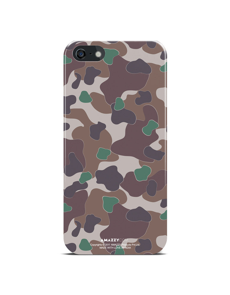 MILITARY Camouflage Pattern - iPhone 5/5s Phone Cover View