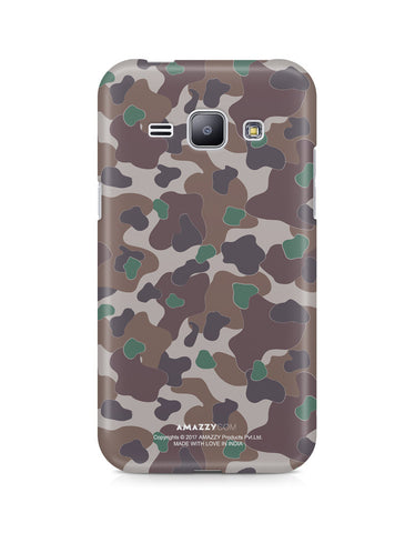 MILITARY CAMOUFLAGE PATTERN - Samsung J1 Phone Cover