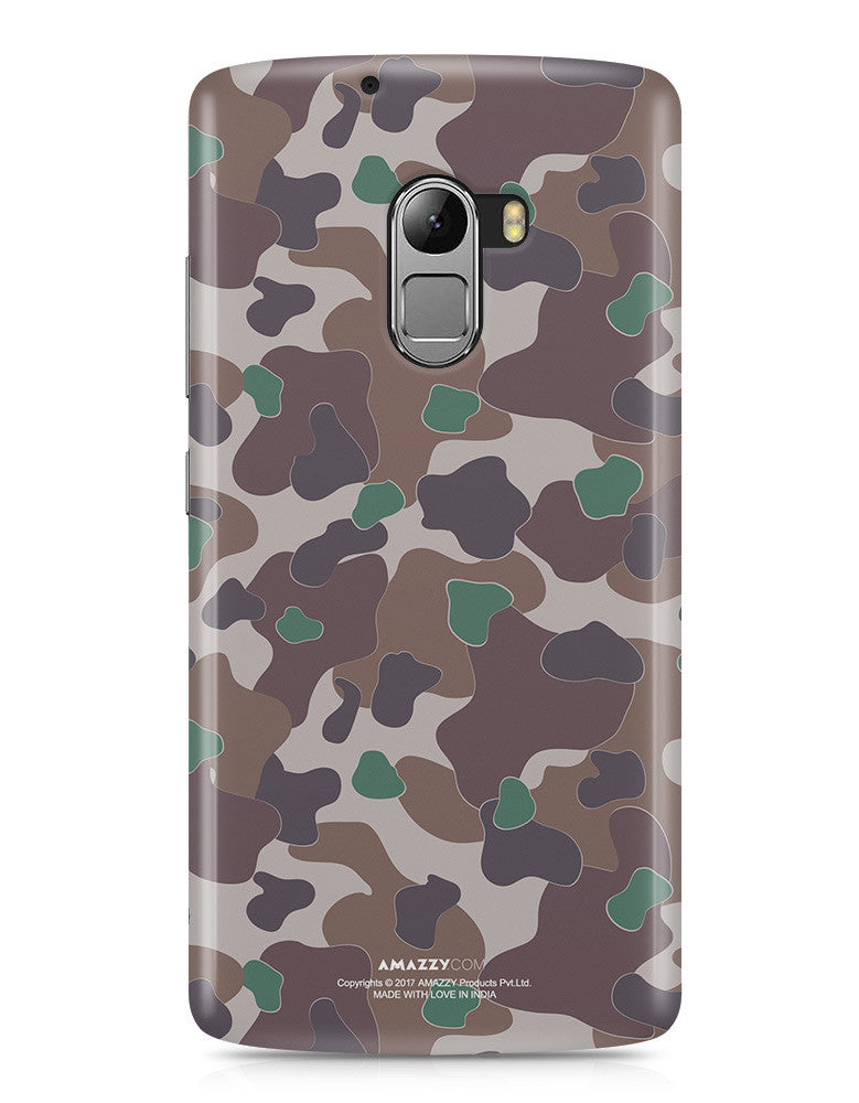 MILITARY CAMOUFLAGE PATTERN - Lenovo K4 Note Phone Cover