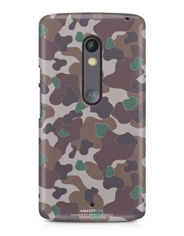 MILITARY CAMOUFLAGE PATTERN - Moto X Play Phone Cover