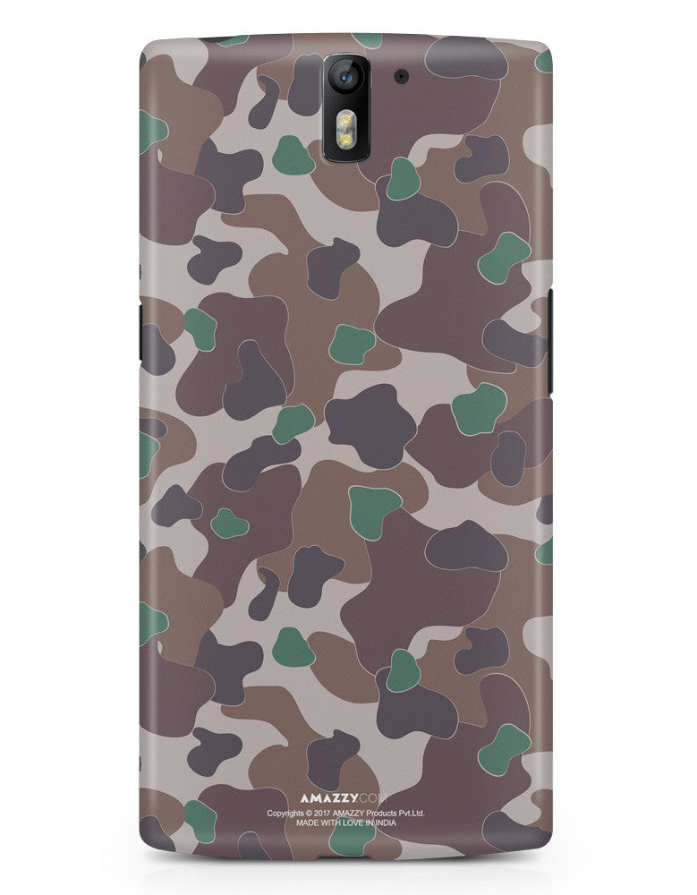 MILITARY CAMOUFLAGE PATTERN - OnePlus 1 Phone Cover