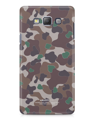 MILITARY CAMOUFLAGE PATTERN - Samsung A7 Phone Cover