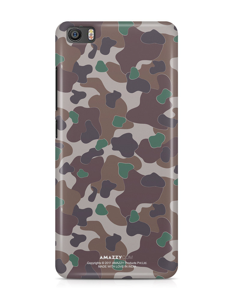 MILITARY CAMOUFLAGE PATTERN - Xiaomi Mi5 Phone Cover View