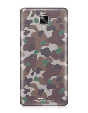 MILITARY CAMOUFLAGE PATTERN - OnePlus 3 Phone Cover